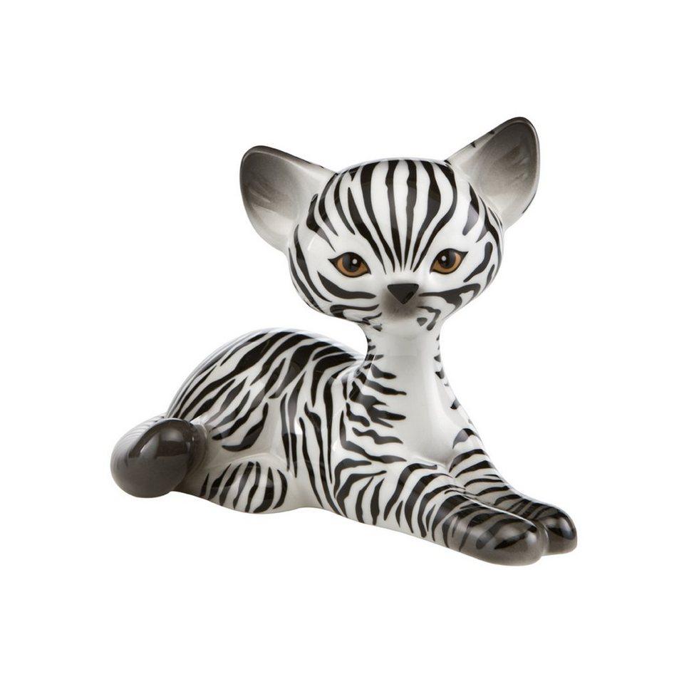 Goebel Zebra Kitty Relaxing »Kitty de luxe« in Bunt