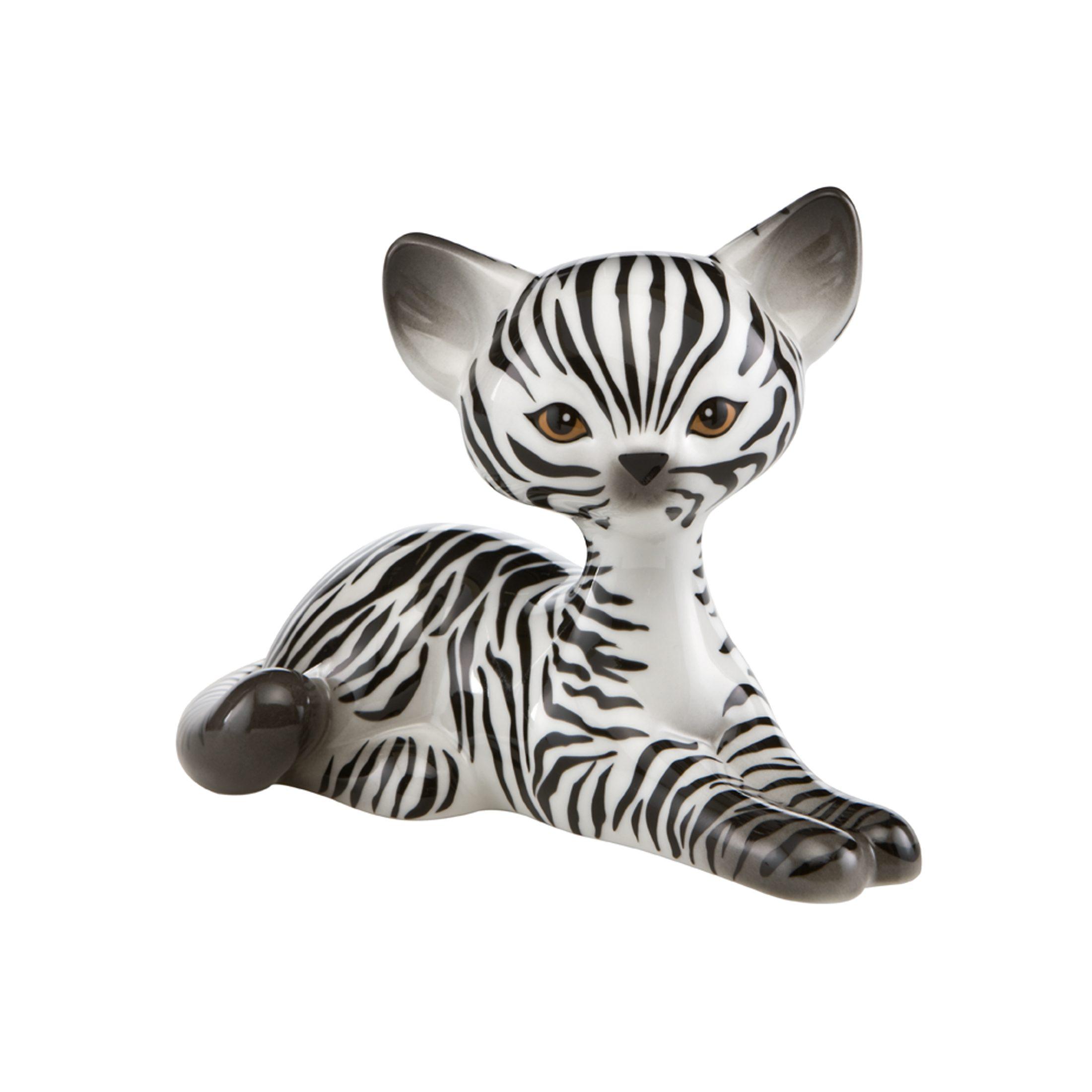 Goebel Zebra Kitty Relaxing »Kitty de luxe«