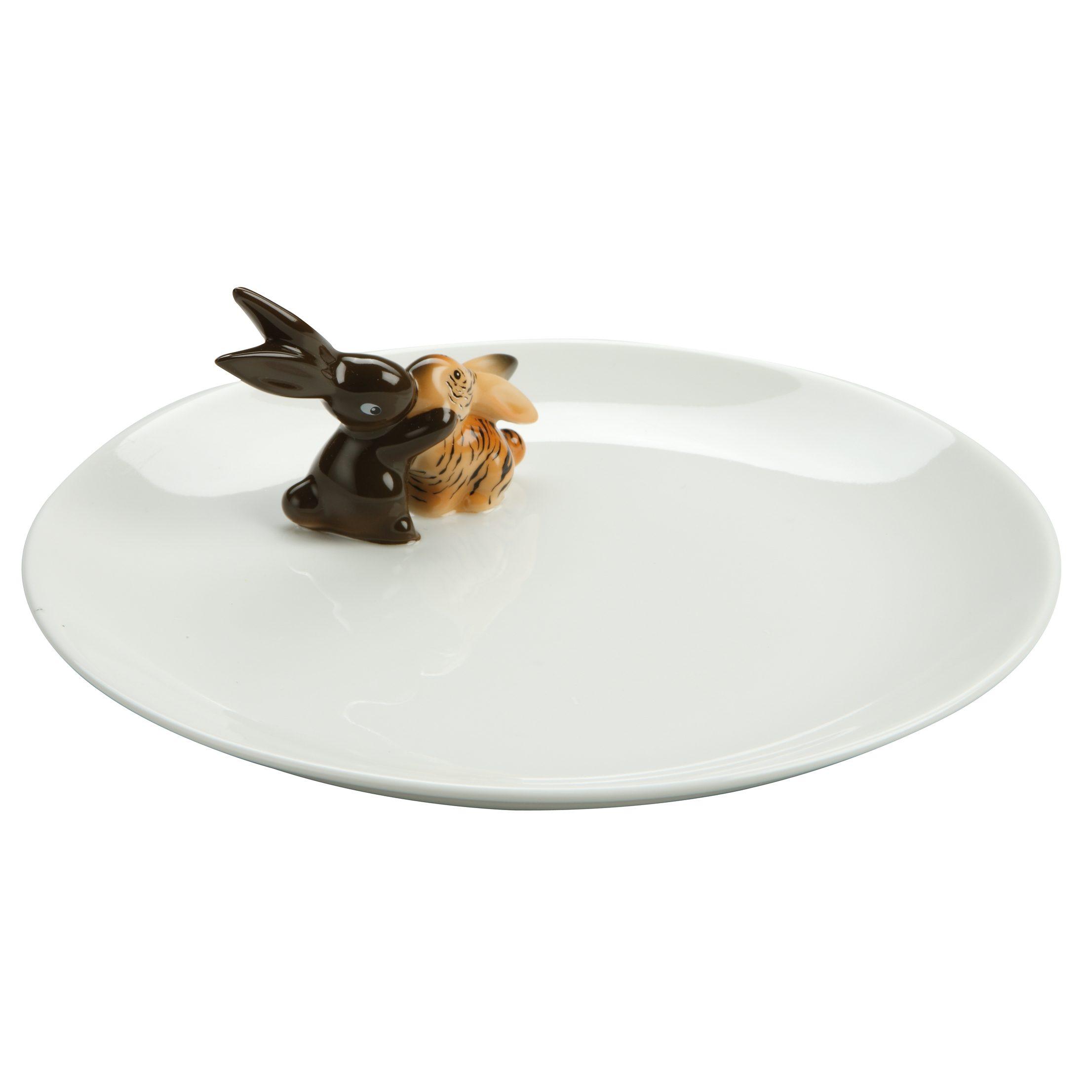 Goebel Tiger Bunny - Teller »Bunny de luxe«