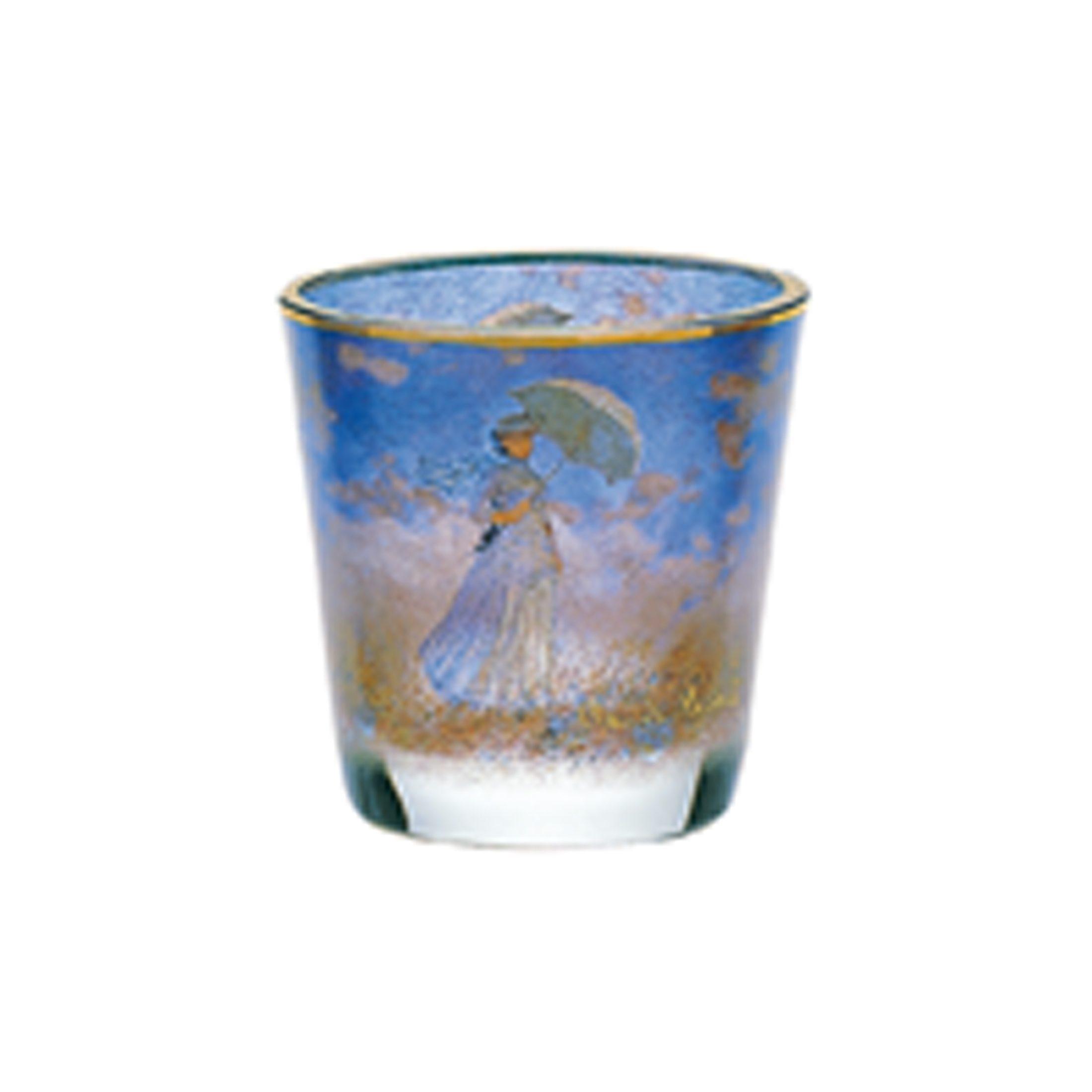 Goebel Dame mit Schirm - Teelicht »Artis Orbis«