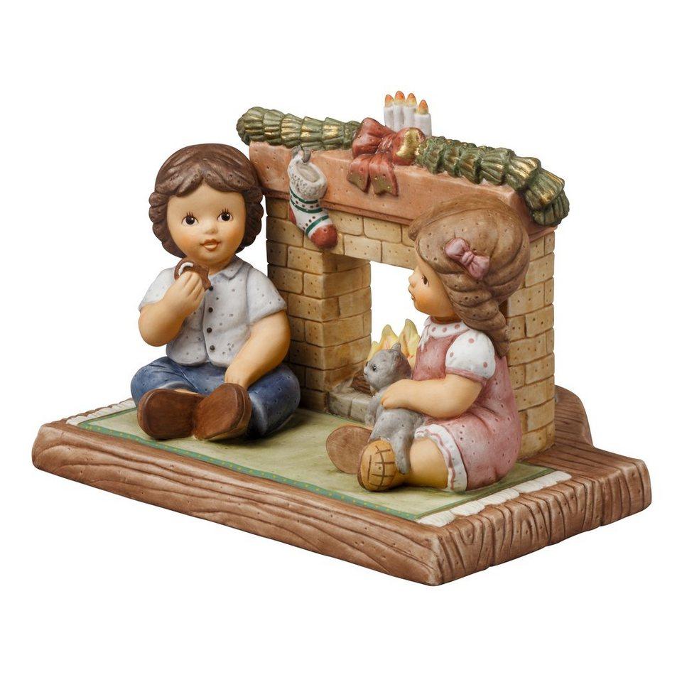 Goebel Wir warten auf den Weihnachtsmann »Nina & Marco« in Bunt