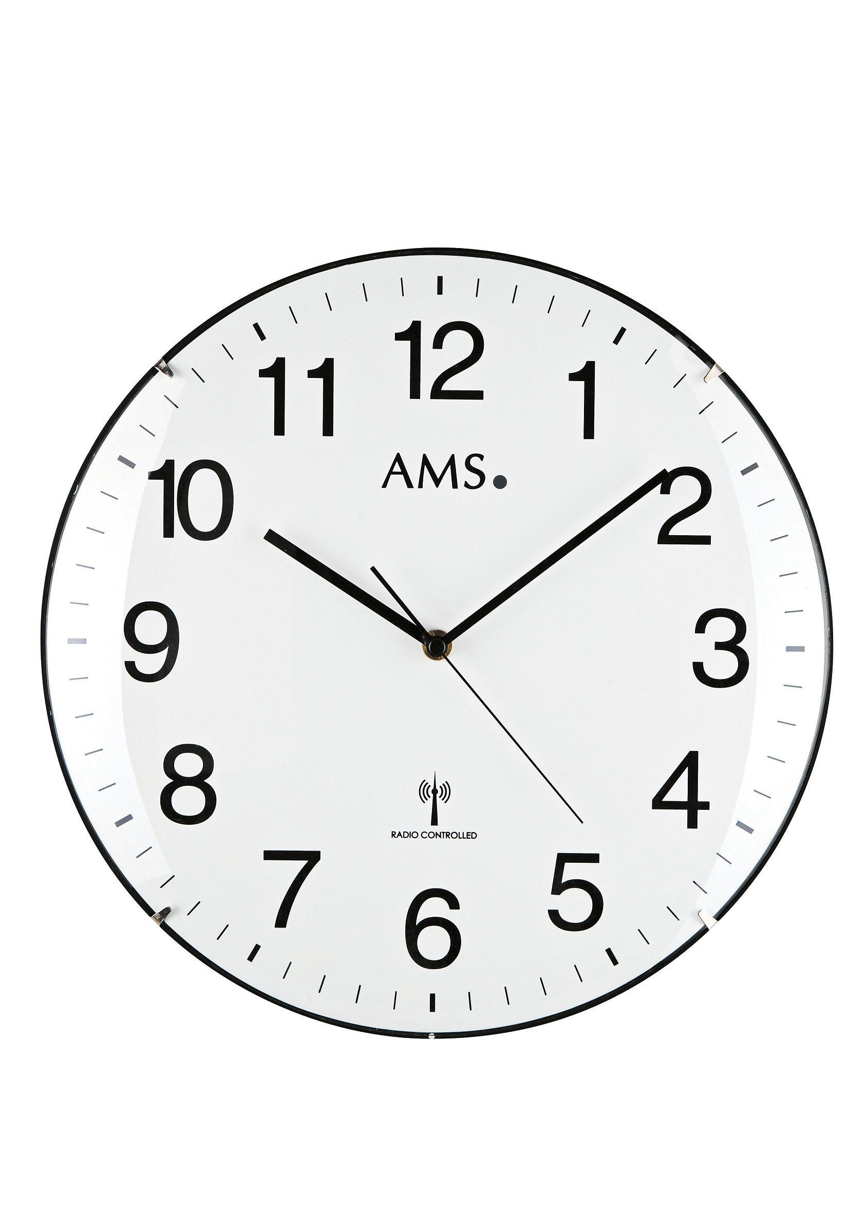 AMS Funkwanduhr »F5960«