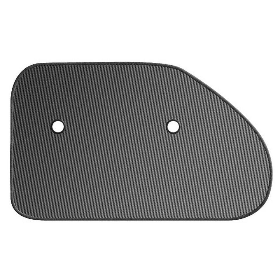 REER Auto- Sonnenschutz für Dreiecksscheiben in schwarz