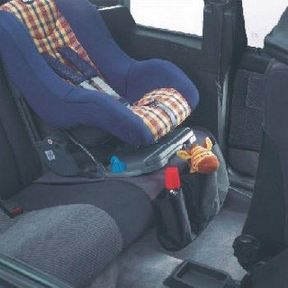 REER Schutzunterlage für Kindersitze in schwarz