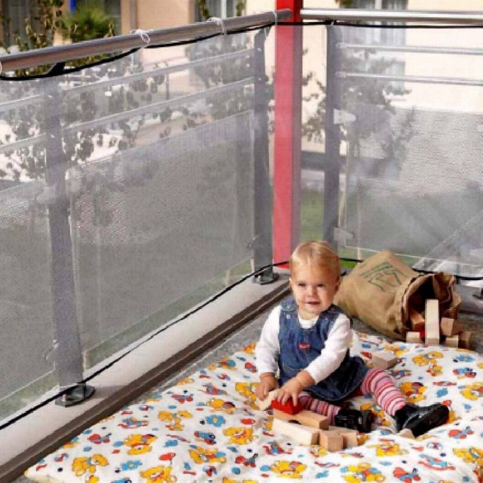 REER Balkonschutz-Netz in weiß