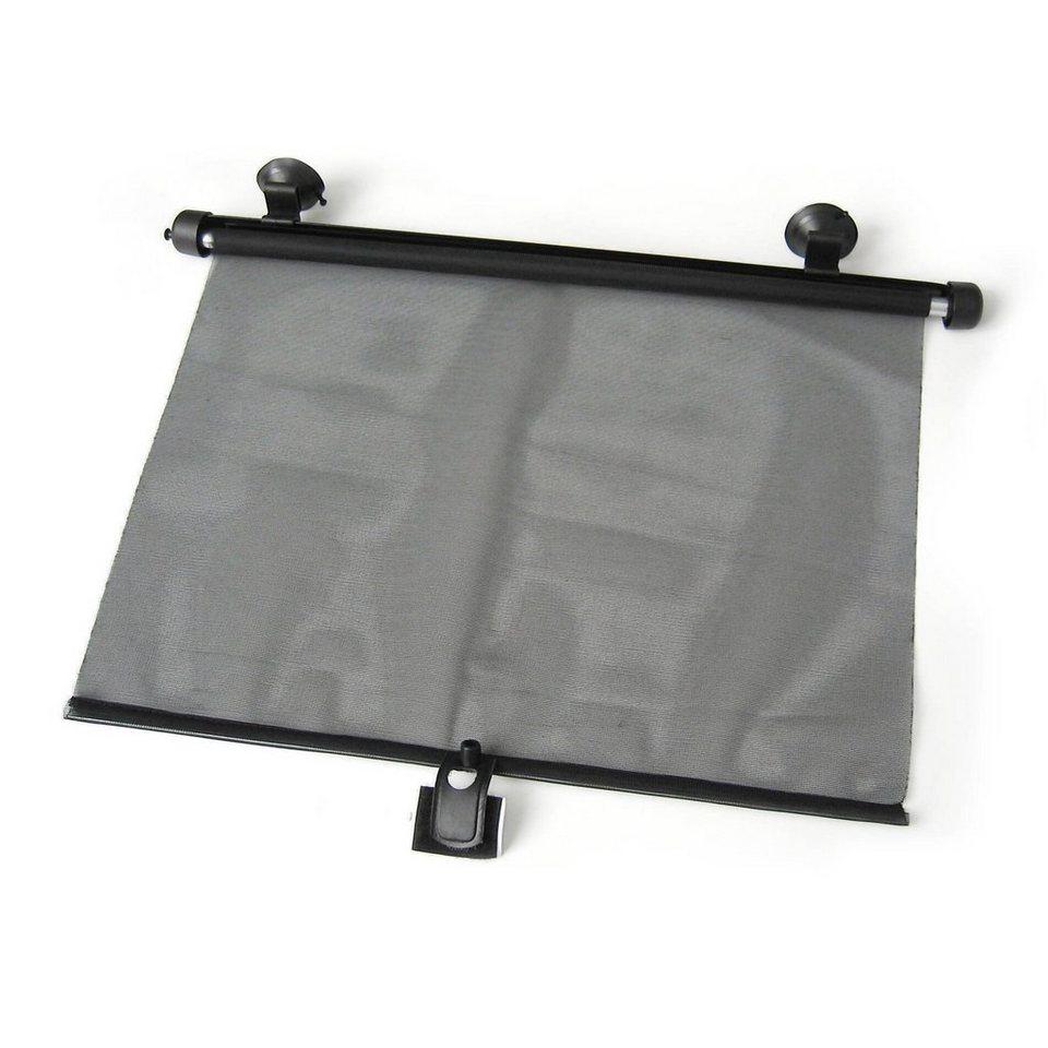 REER Auto-Sonnenschutzrollo in schwarz