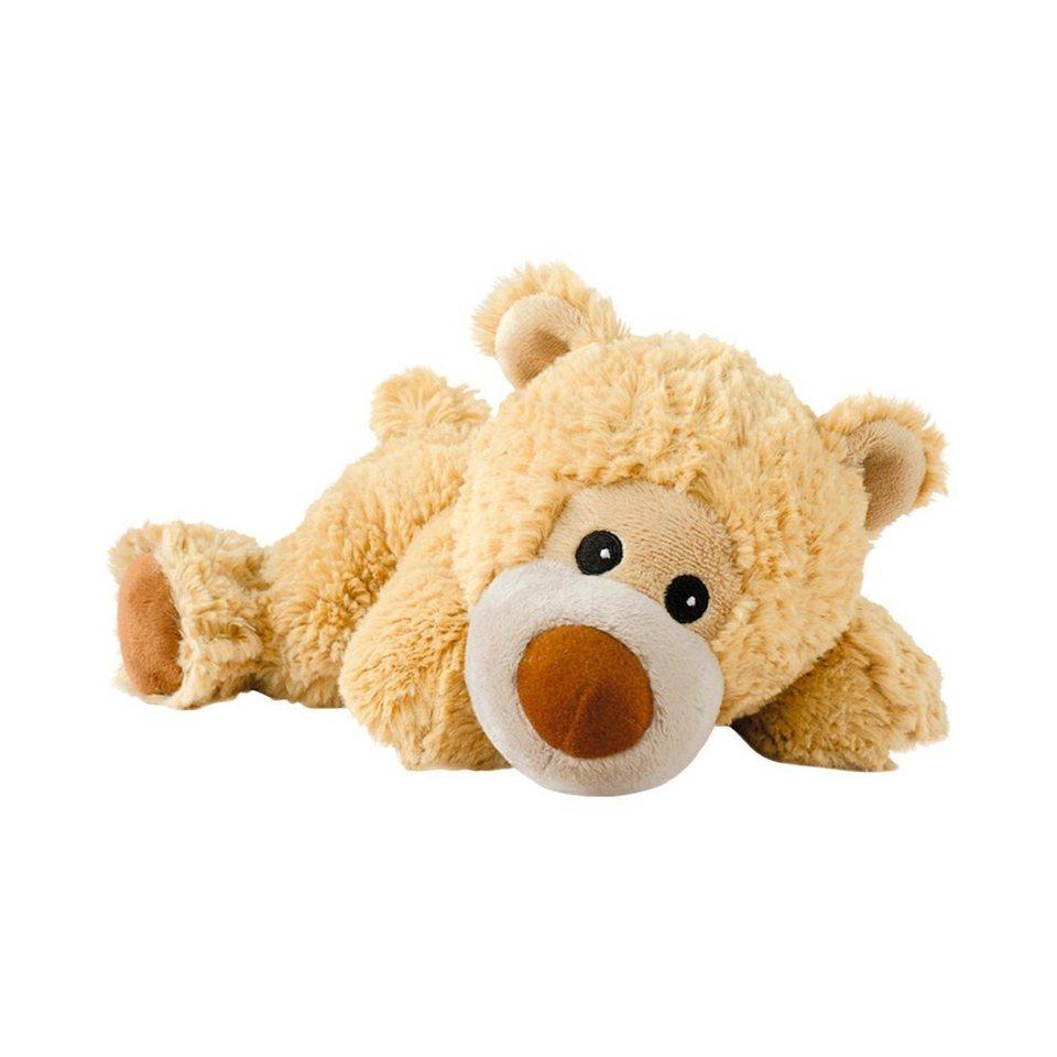 WARMIES Wärmekissen mit Lavendel-Kornfüllung Beddy Bears Liegender Bär in hellbraun