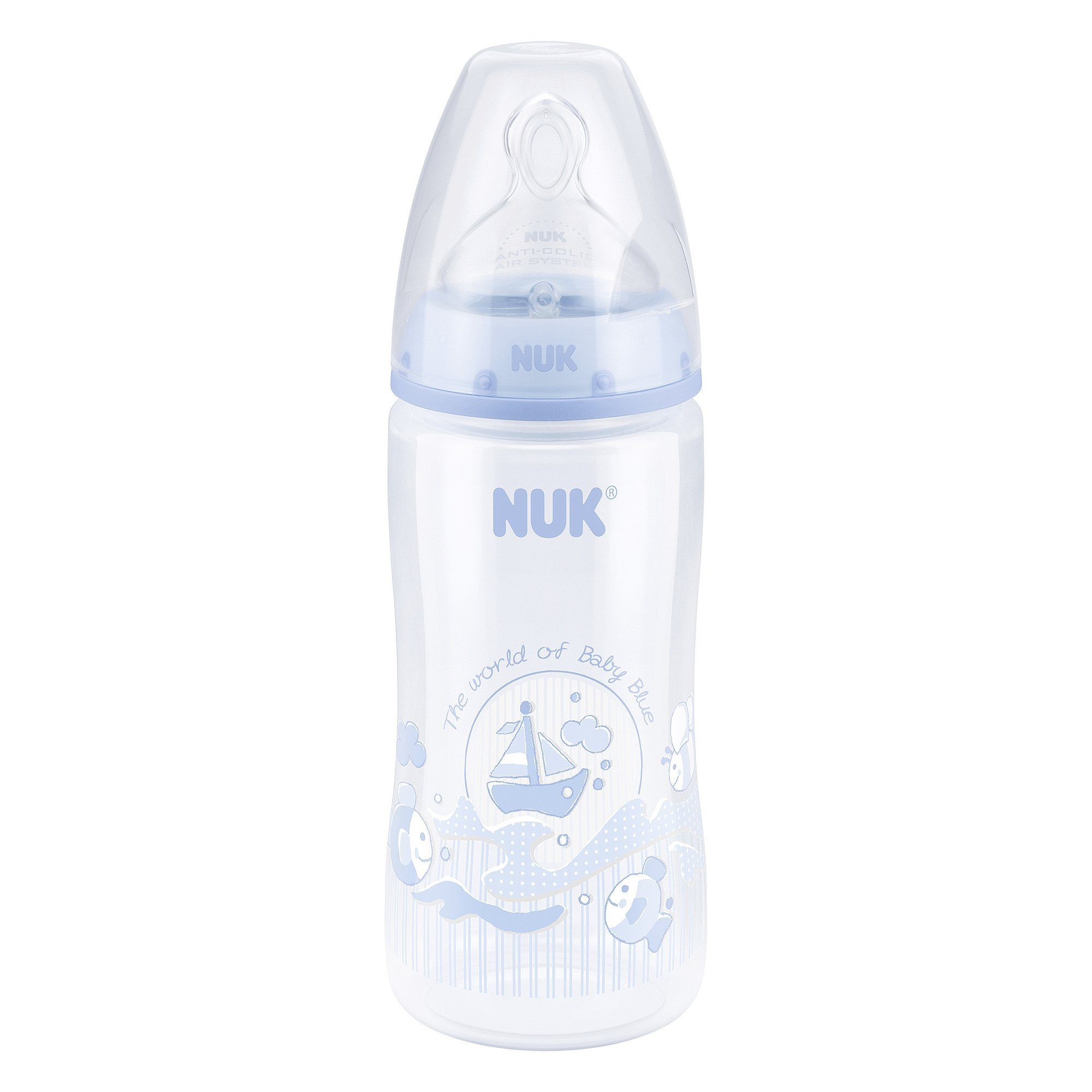 NUK Anti-Kolik-Weithals-Flasche First Choice Plus 300 ml,...