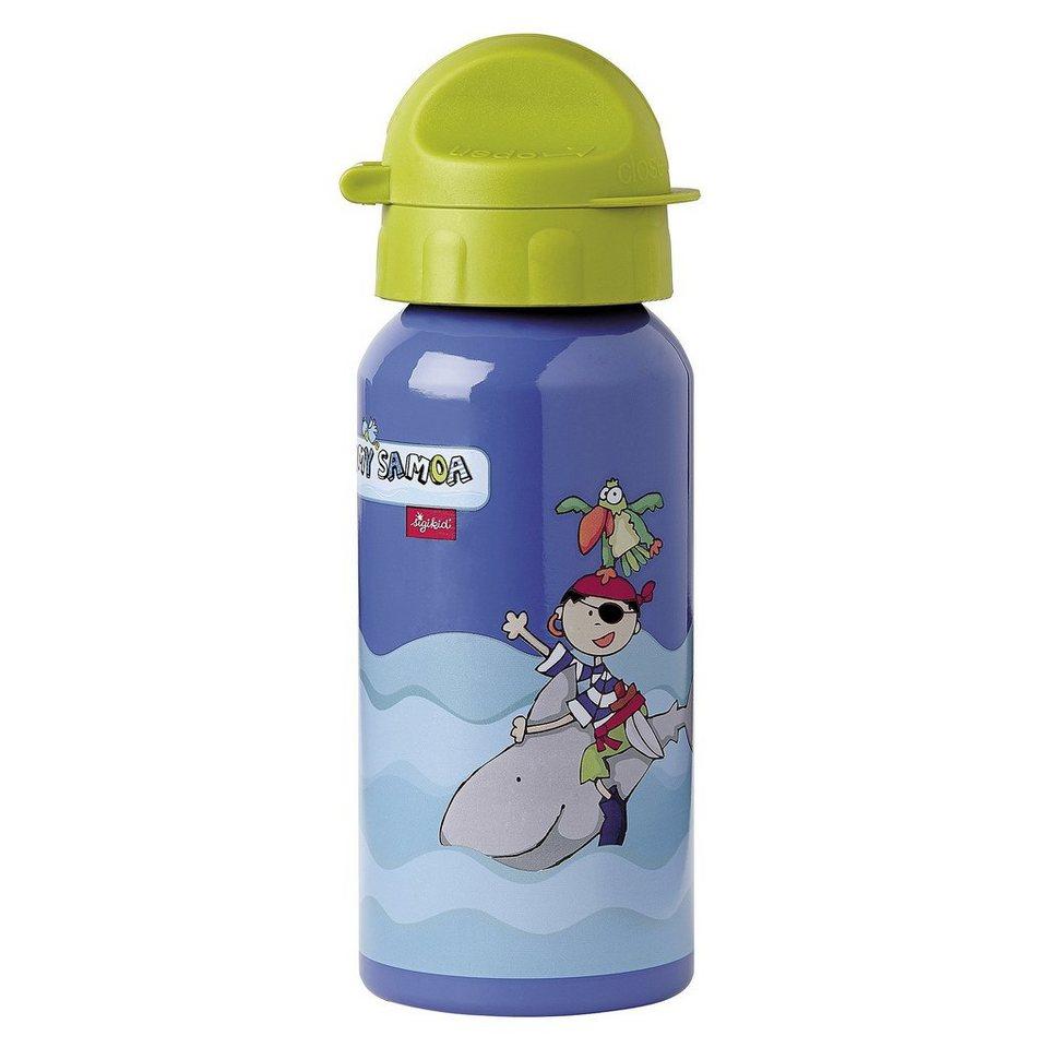 SIGIKID Alu-Trinkflasche in mehrfarbig