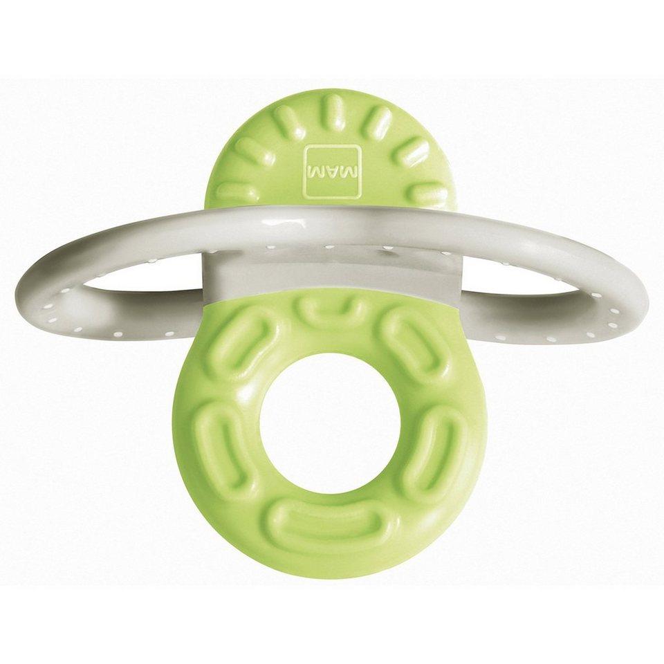 MAM Beißring Bite & Relax Phase 1 in grün