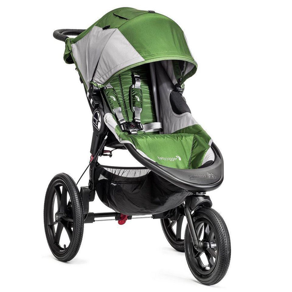 BABYJOGGER Summit X3 Einer Kinderwagen in Green/Grey