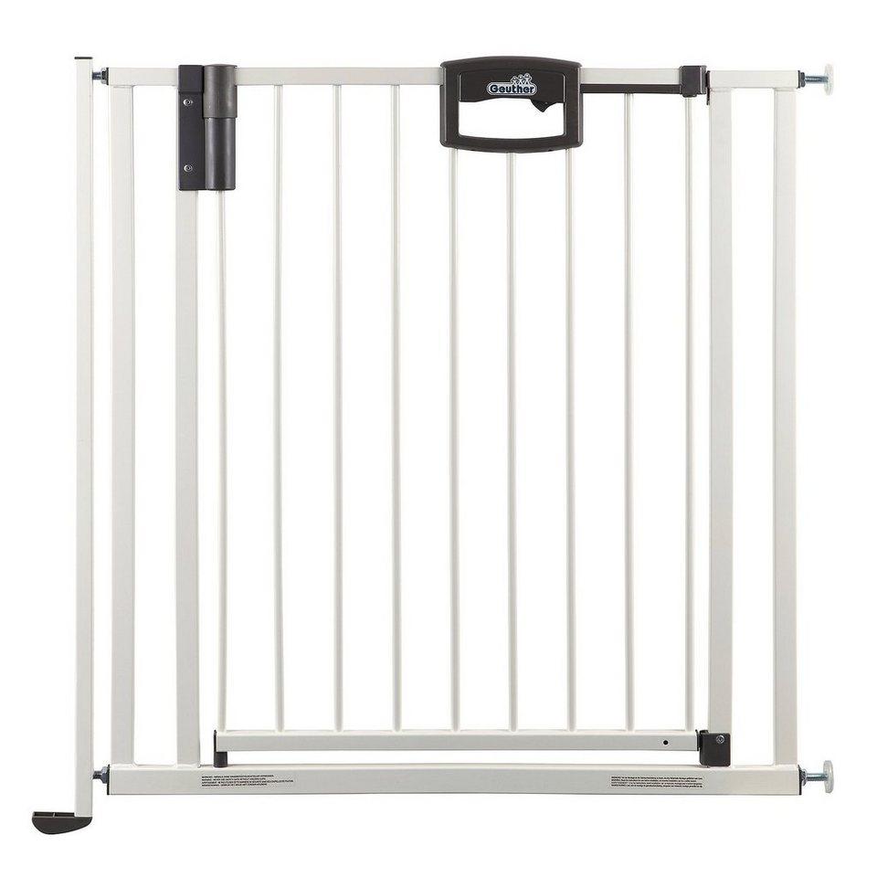 GEUTHER Treppenschutzgitter Easy Lock in weiß