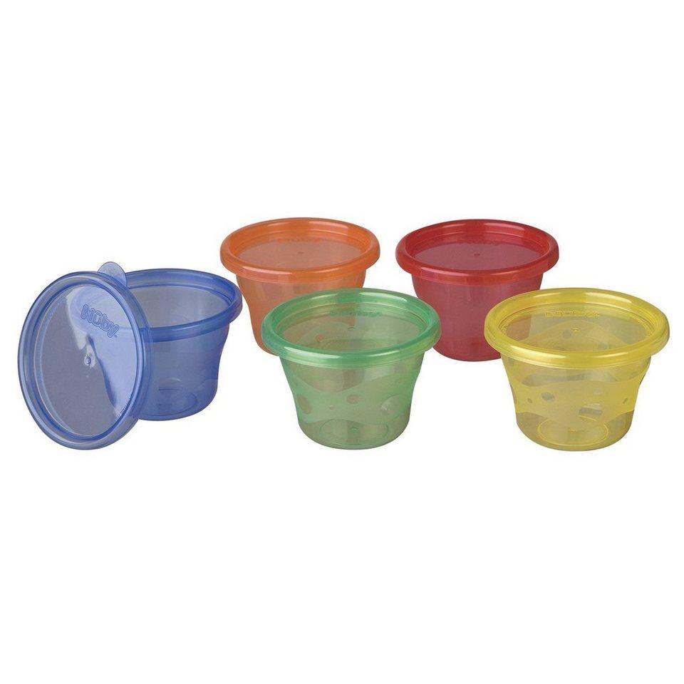 NÛBY Snack Cups in mehrfarbig
