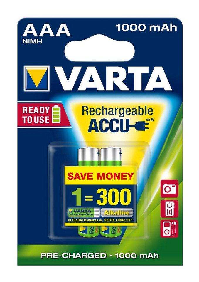 Varta, Akku, »Professional Akku, Micro / AAA / R03« (2 Stck.)