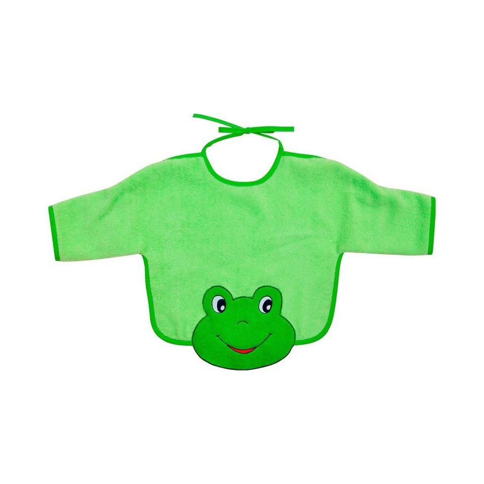 WÖRNER Ärmellätzchen Frosch in grün