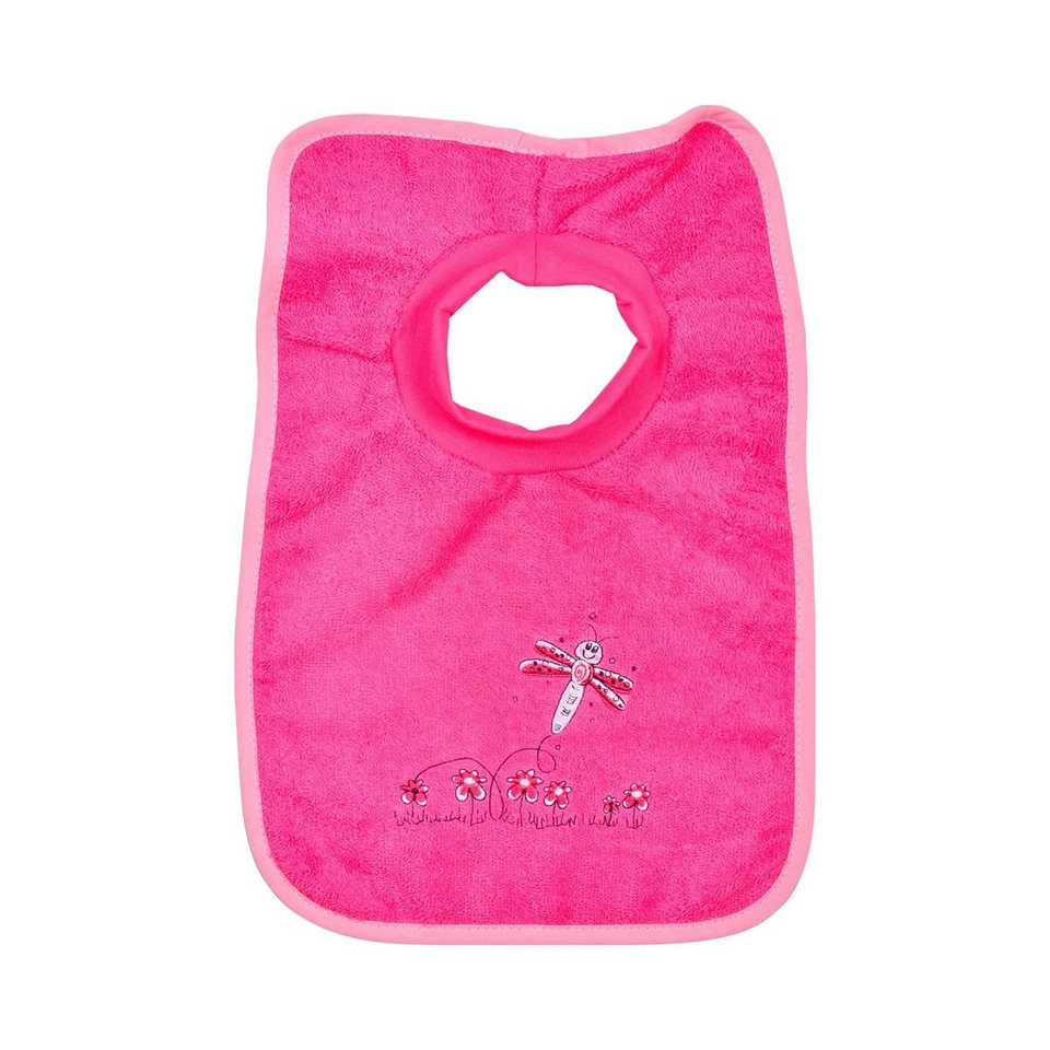 WÖRNER Schlupflätzchen Libelle in rosa