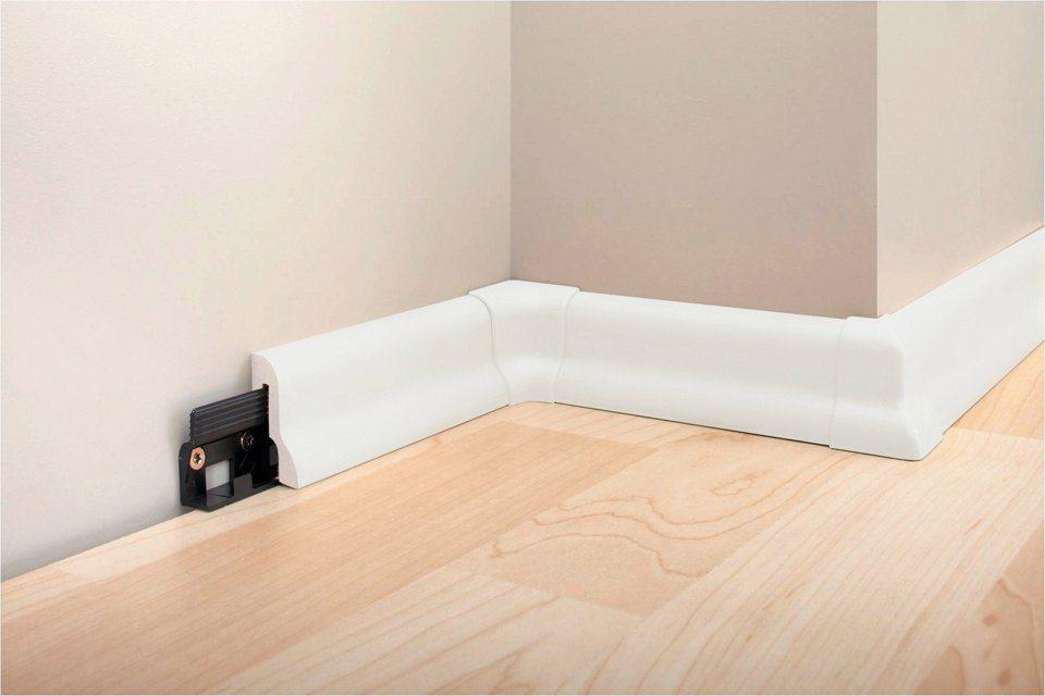 Sockelleiste »SL 40«, 5 Stk. in weiß