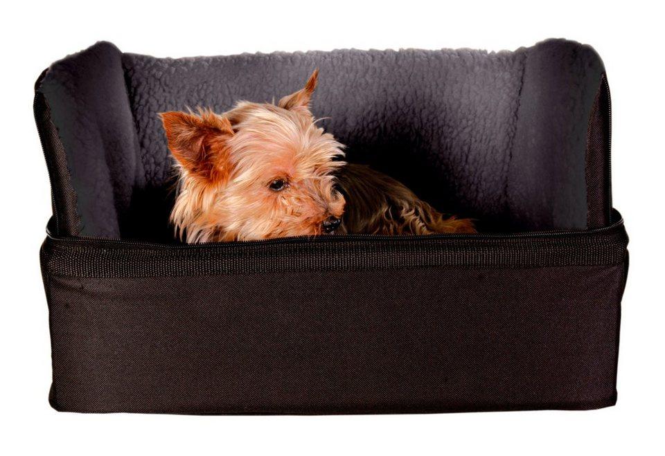 Autositz für Hunde in schwarz