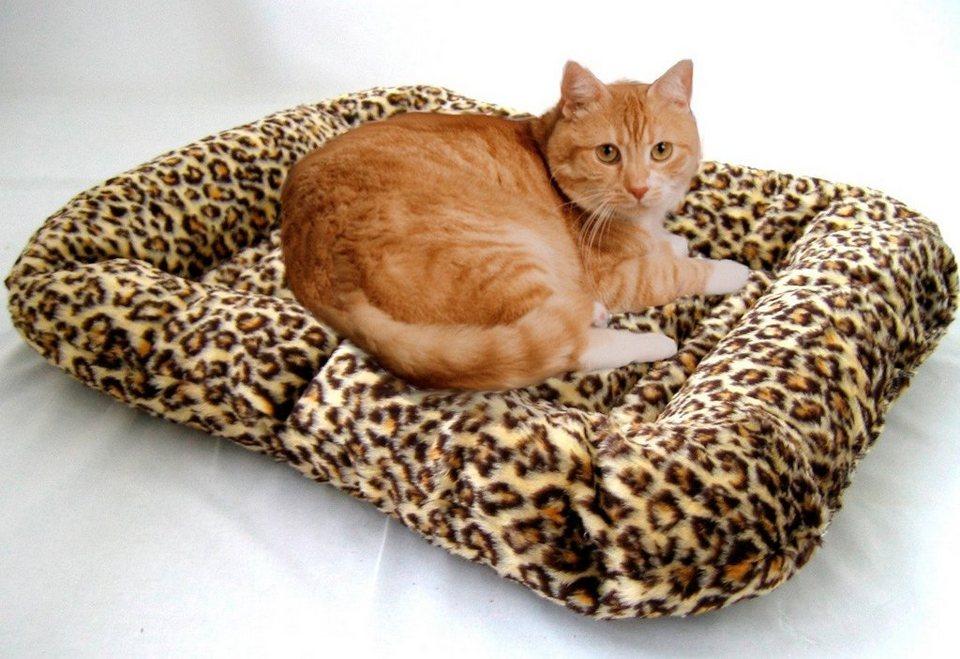Hundekissen und Katzenkissen »Leo« in leoprint