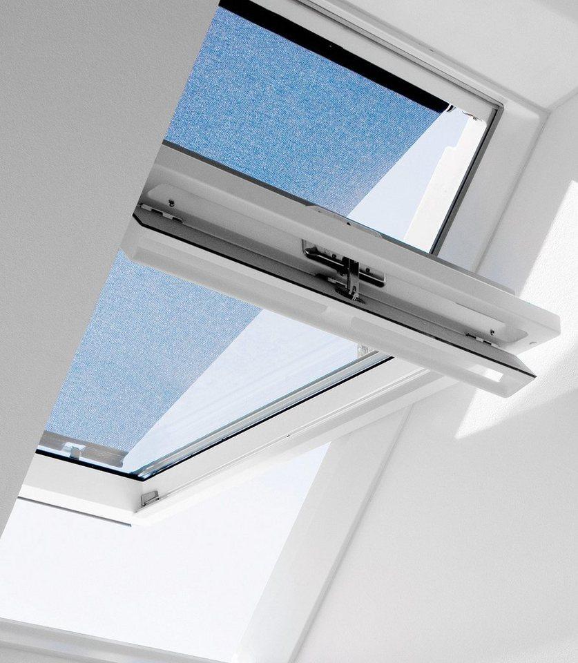 Hitzeschutzmarkise für Dachfenstergröße: 102/104 in schwarz