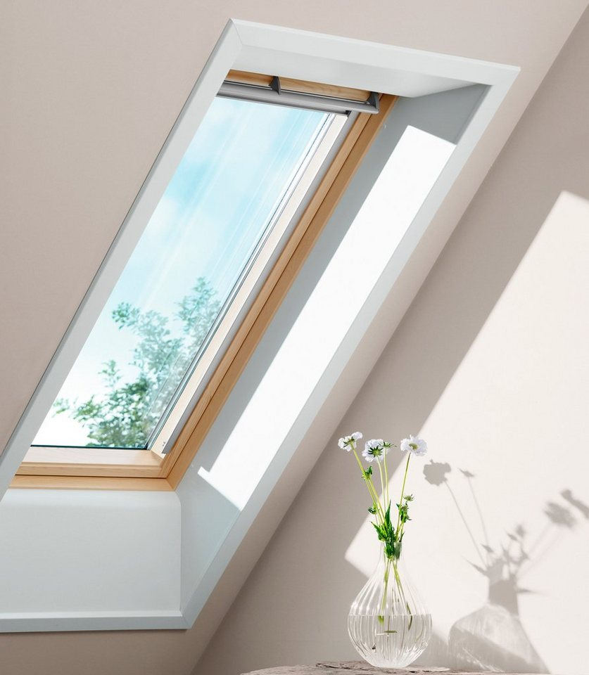 Dachfenster-Schwingfenster »GGL Holz« Größe: SK06 in grau