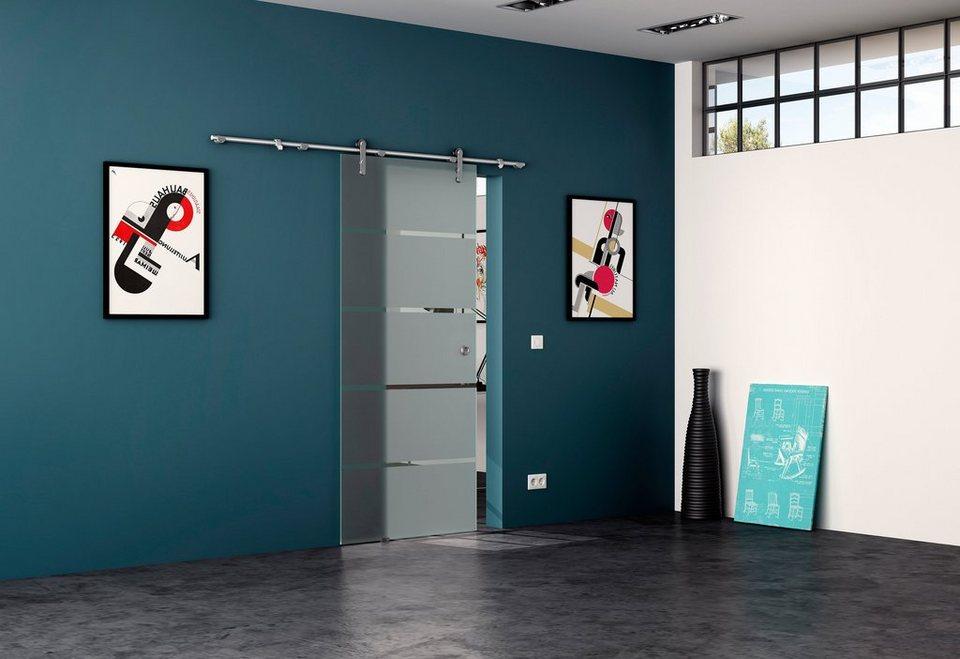 levidor glasschiebet r edelstahl rollensystem 4 streifen mit muschelgriff online kaufen otto. Black Bedroom Furniture Sets. Home Design Ideas