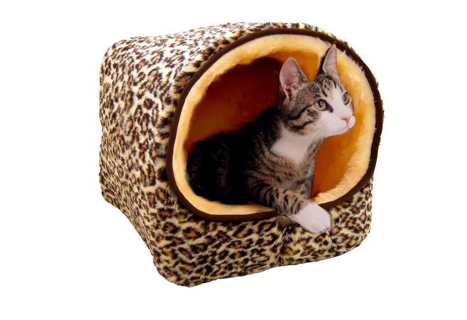 Hunde- und Katzenhöhle »Leo« in leoprint