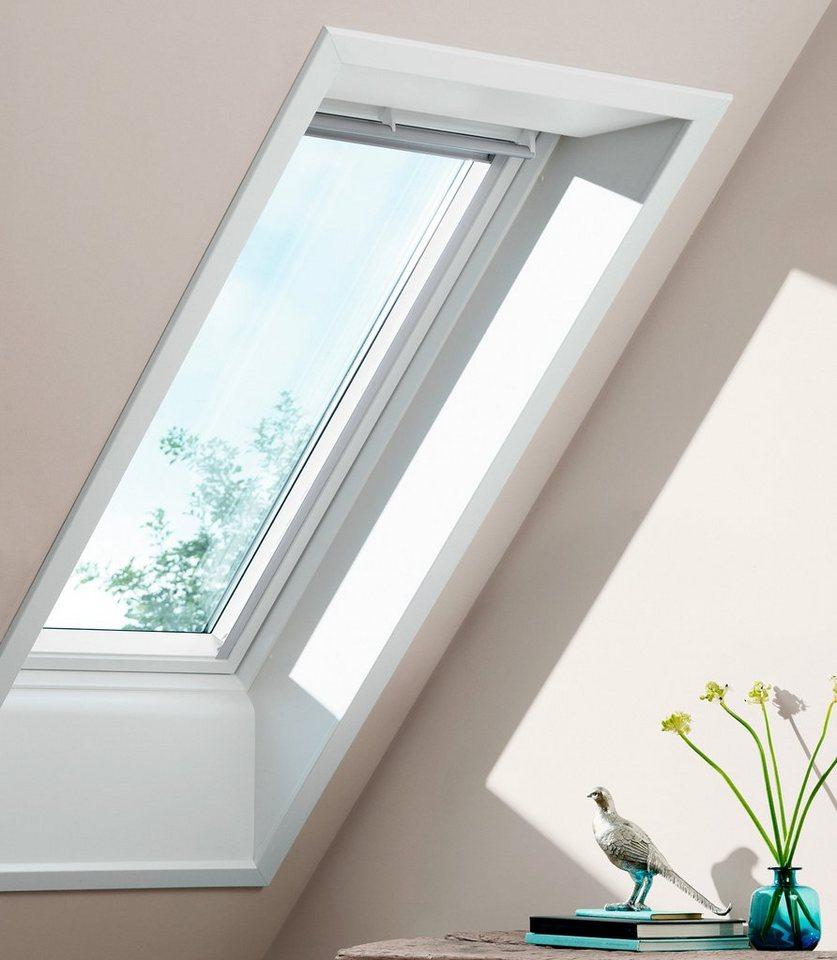 Dachfenster-Schwingfenster »GGU-Kunststoff« Größe: FK06 in grau