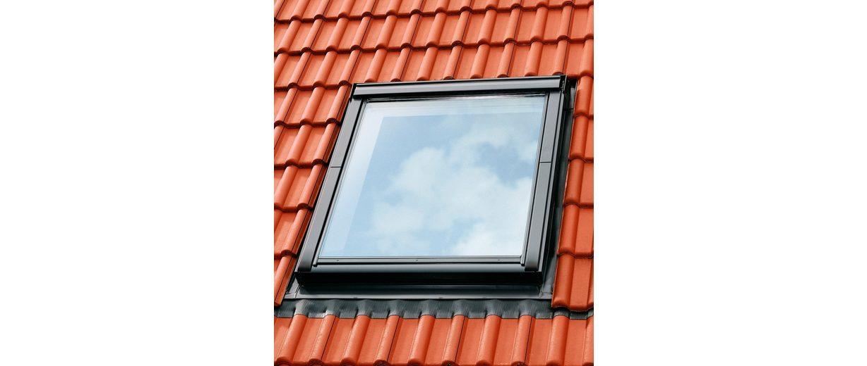 Eindeckrahmen »EDZ 2000«, für Fenstergröße: CK04 in alu-grau
