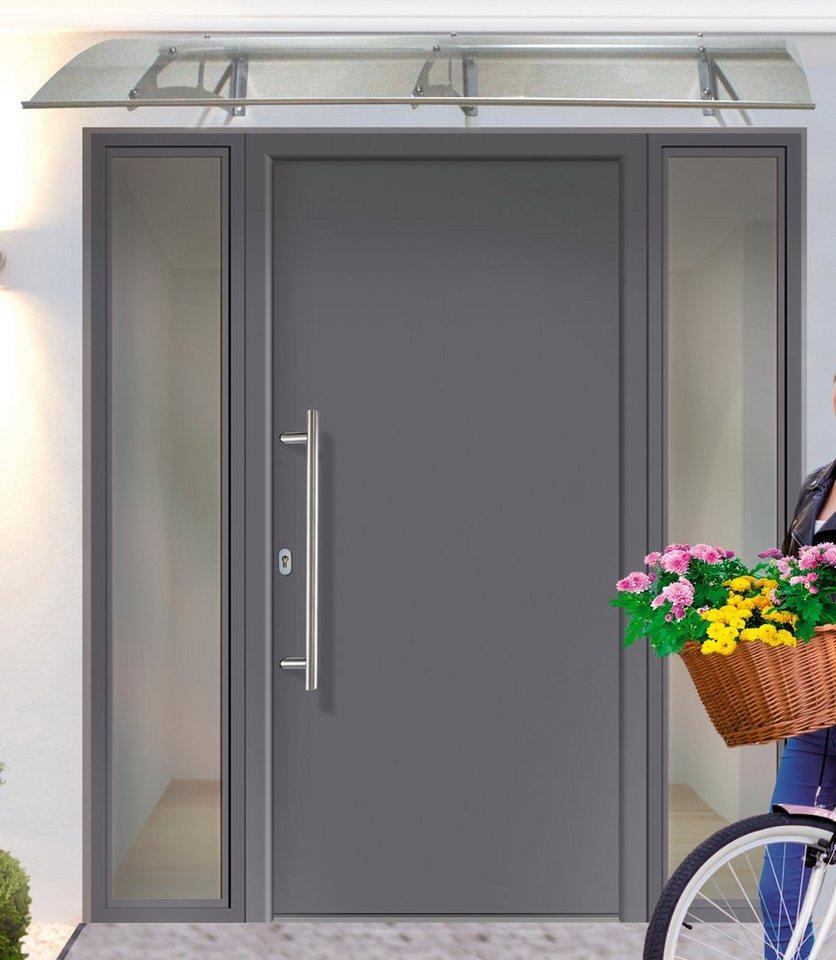 KM MEETH ZAUN GMBH Aluminium-Haustür »A01«, BxH: 108x208 cm, anthrazit, in  2 Varianten online kaufen   OTTO