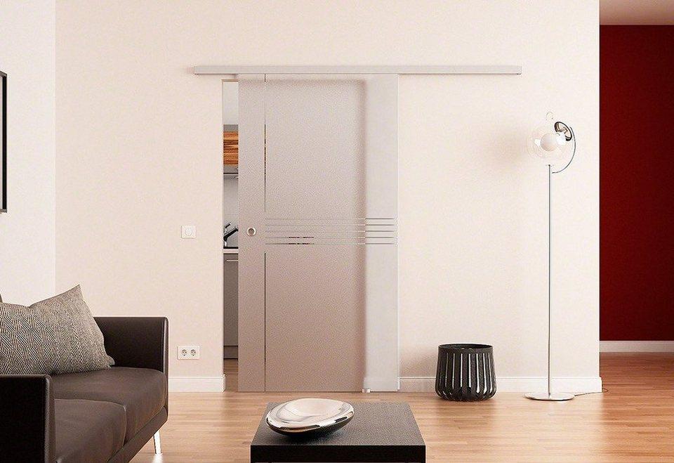Glasschiebetür »Dorma Idea« in weiß