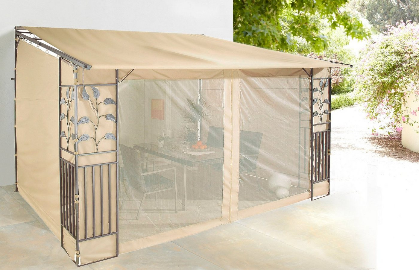 Kika Gartenmobel Rattan : Moskitonetze Für Pavillon  Preisvergleiche, Erfahrungsberichte und