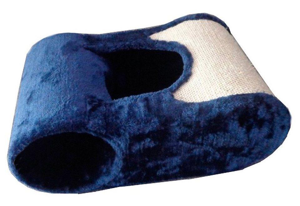 Katzenhöhle »Loui« in blau