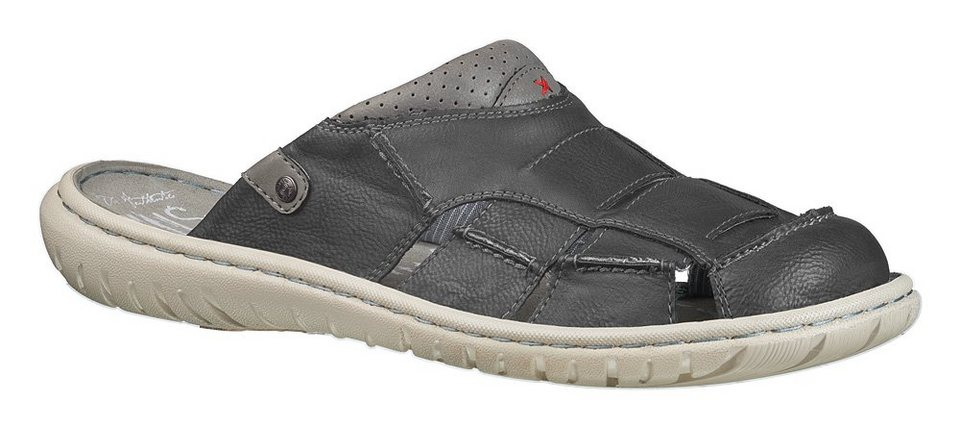 MUSTANG SHOES Sabot in graphit