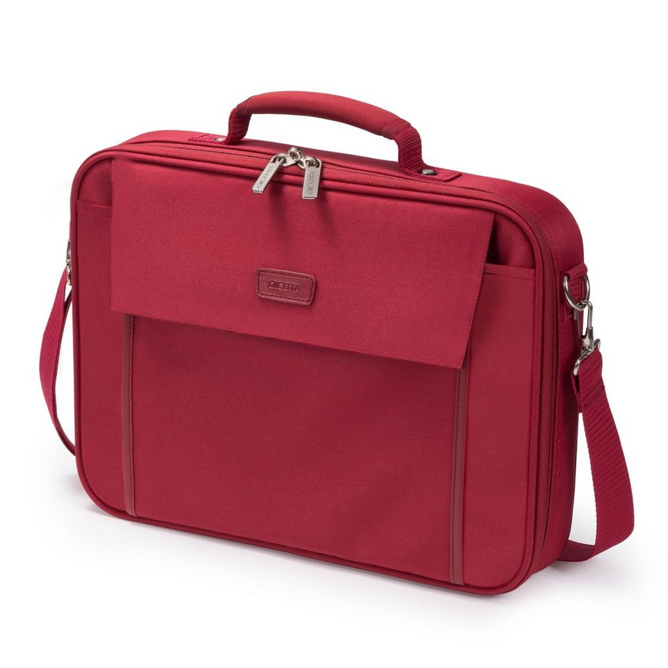 DICOTA Notebooktasche »Multi BASE 15-17.3 rot (D30917)« in rot