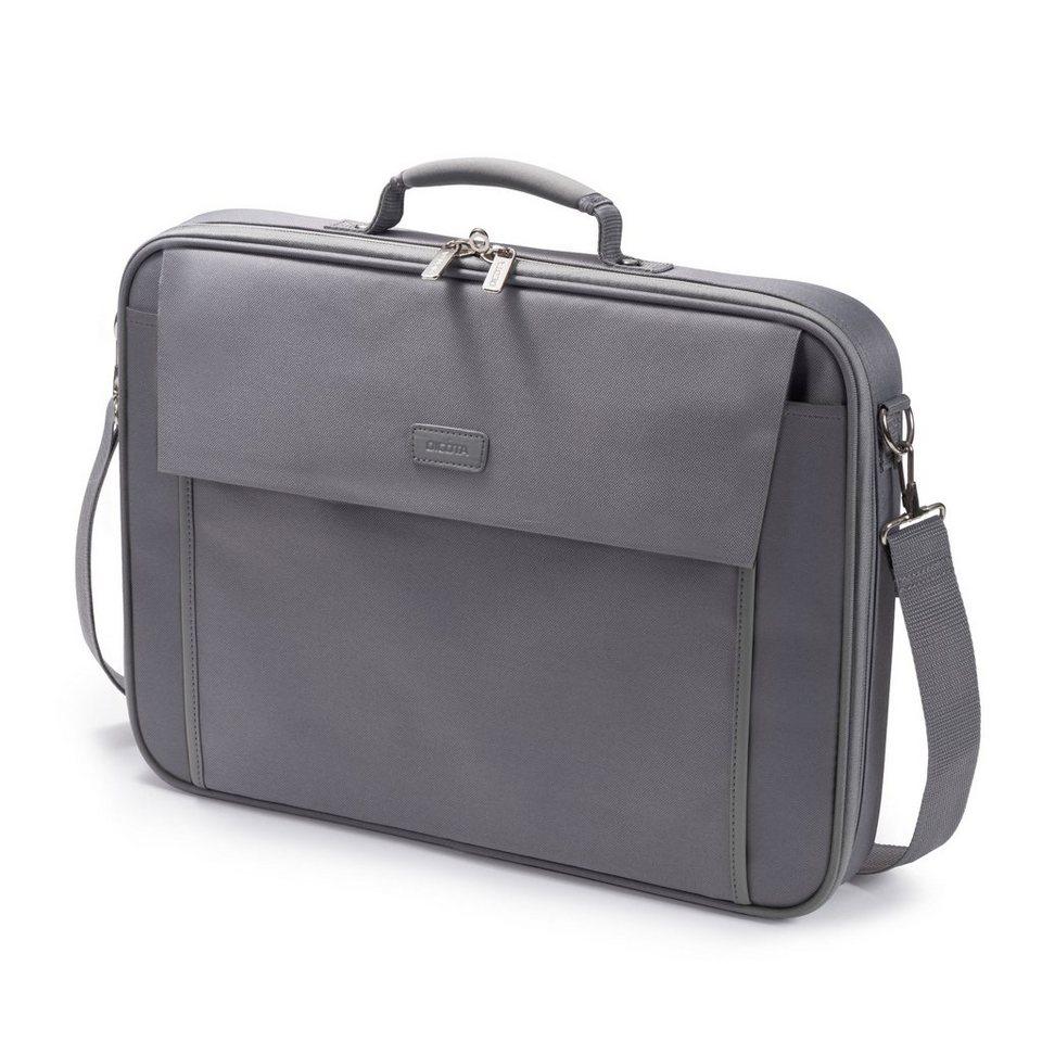 DICOTA Notebooktasche »Multi BASE 14-15.6 grau (D30918)« in grau