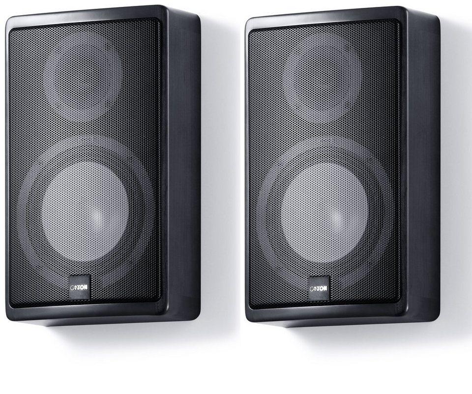 Canton (Paar) Lautsprecher »Ergo 610« in schwarz