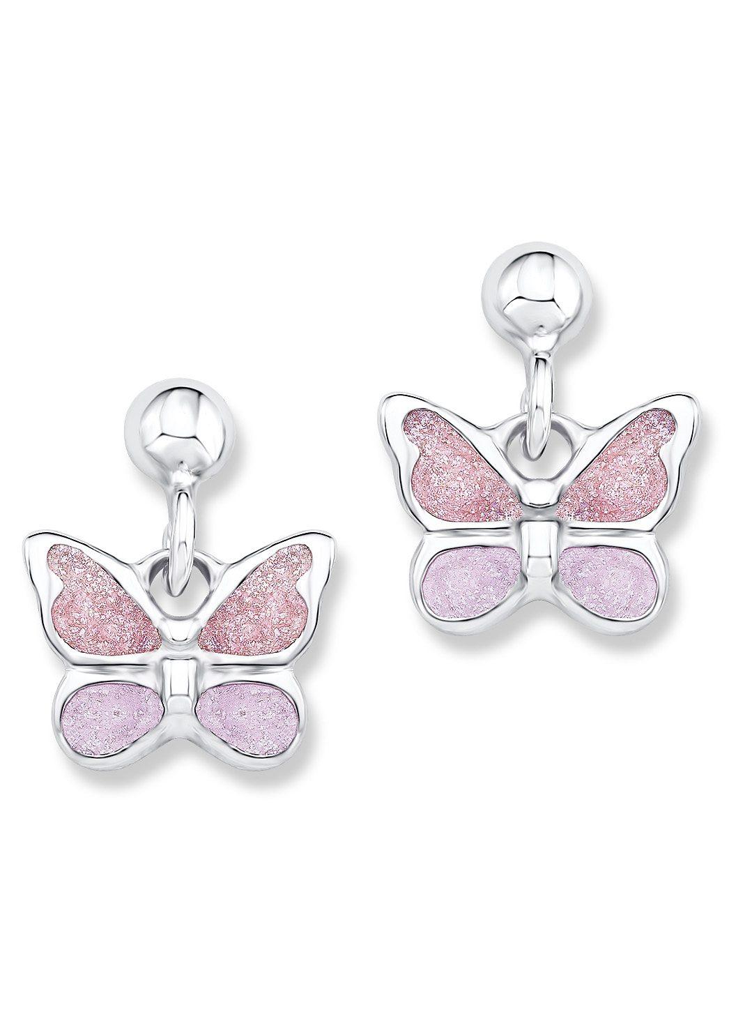 Paar Ohrstecker, »Schmetterling, PLFS/46«, Prinzessin Lillifee