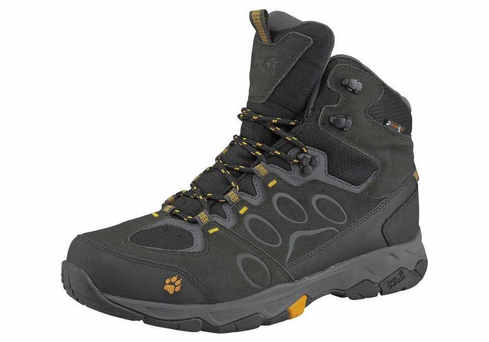 Jack Wolfskin Mountain Attack 5 Texapore Mid M Outdoorschuh in Schwarz