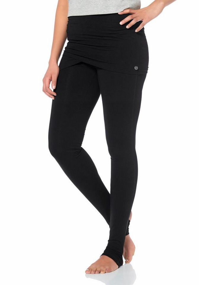 Ocean Sportswear Yogaleggings in schwarz