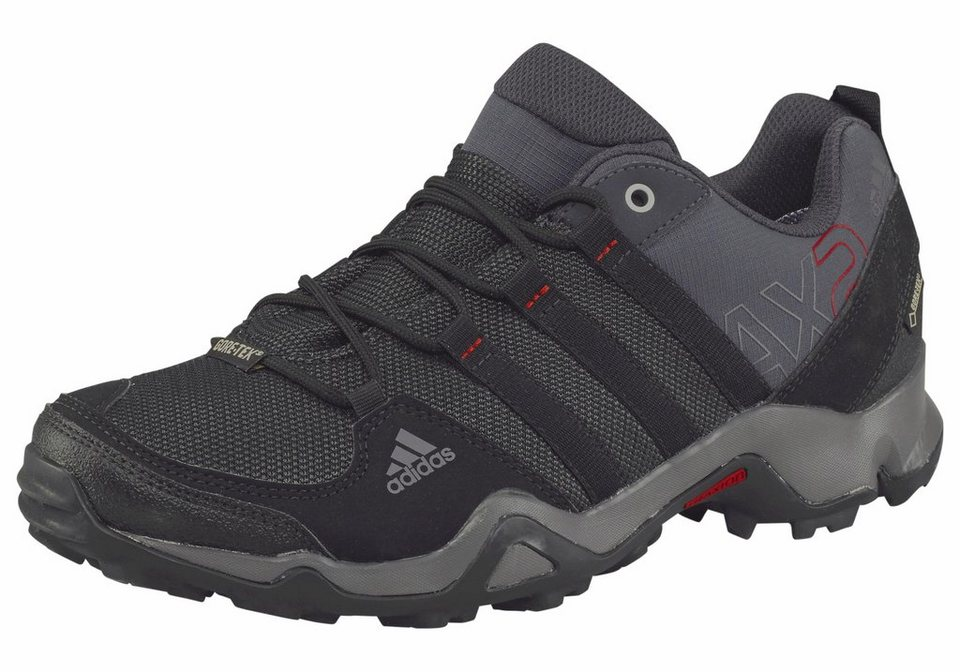 adidas Performance »AX2 GORE-TEX« Outdoorschuh in grau-schwarz
