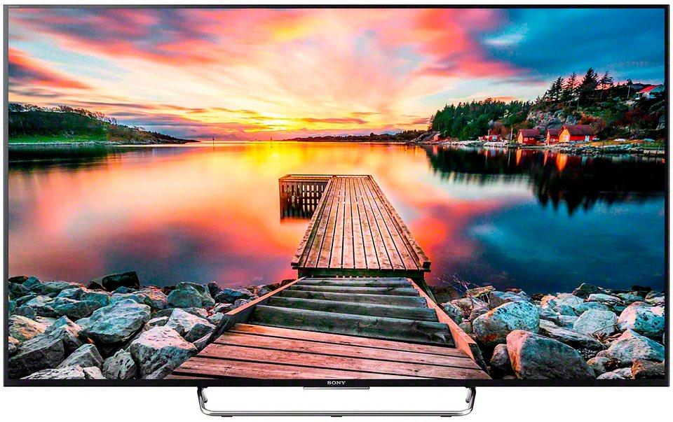sony bravia kdl 65w858c led fernseher 164 cm 65 zoll. Black Bedroom Furniture Sets. Home Design Ideas