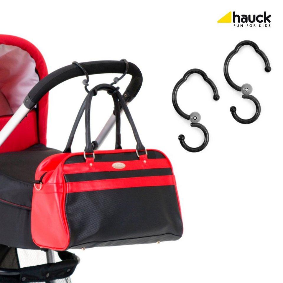 Hauck Befestigungshaken Hook me für Kinderwagen und Buggy in schwarz