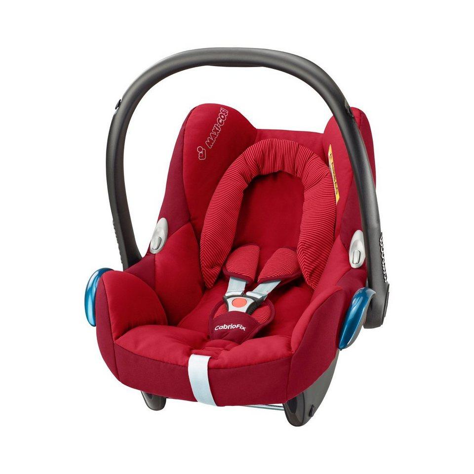 MAXI-COSI Babyschale Design 2016 in robin red