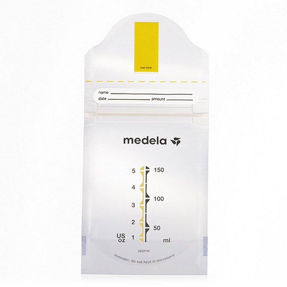MEDELA Pump & Save Beutel für Muttermilch (20 Stück) in transparent