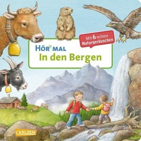 Buch mit Papp-Einband »In den Bergen / Hör mal Bd.16«