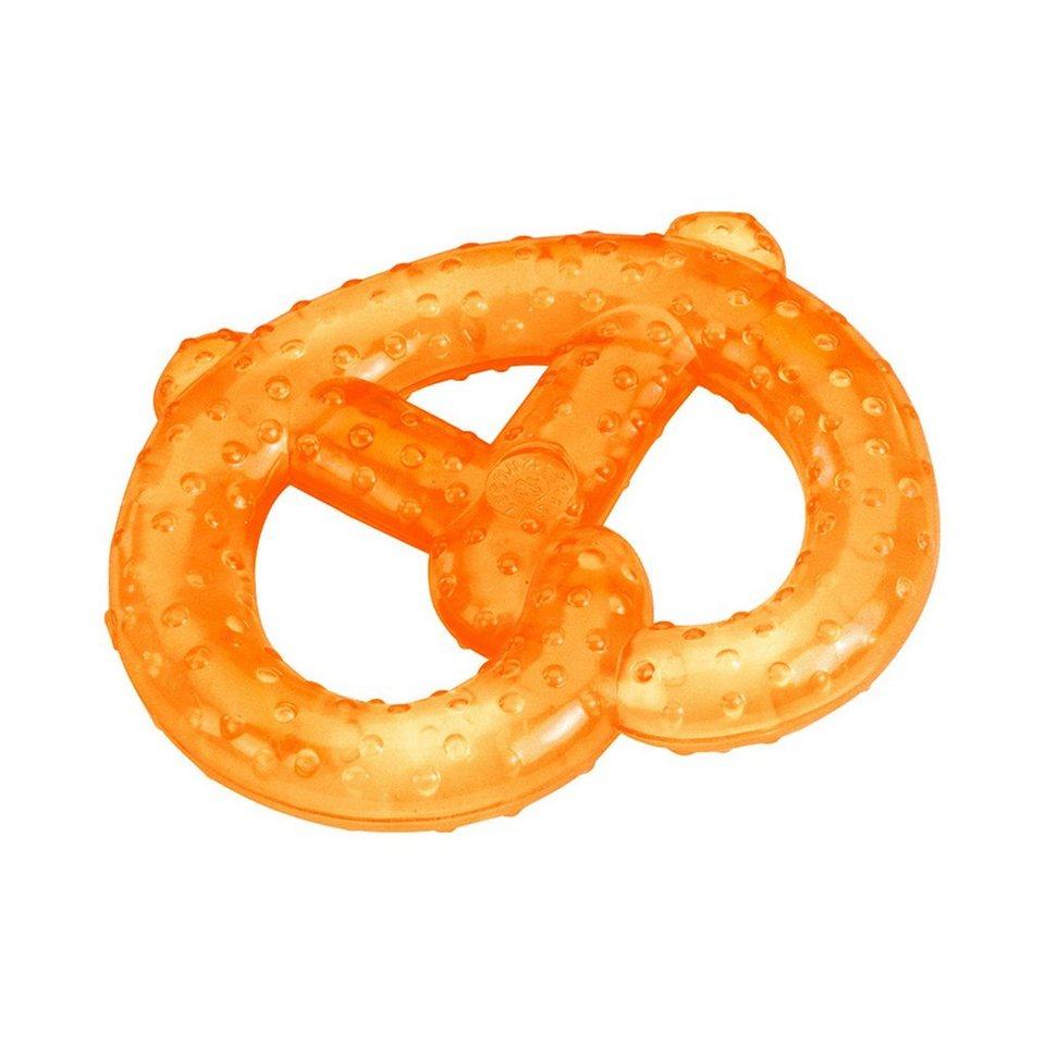 FASHY Kühlbeißring Brezel in orange