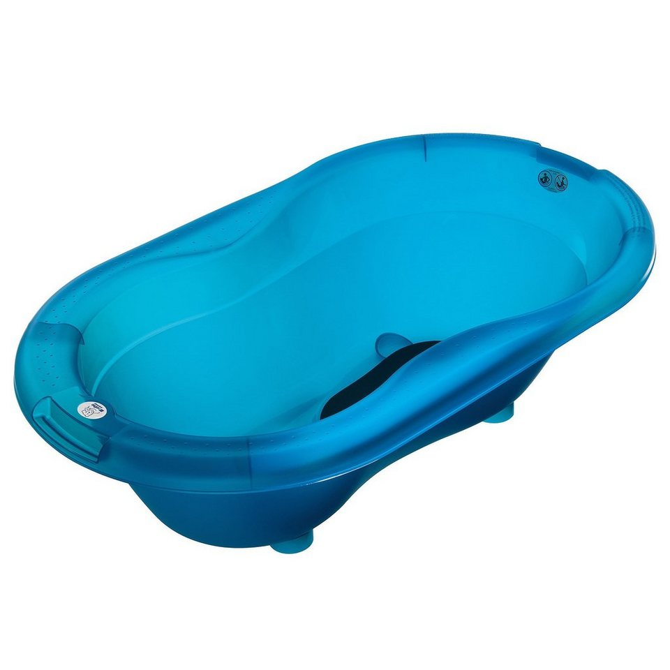 ROTHO BABYDESIGN TOP Badewanne Translucent in blue
