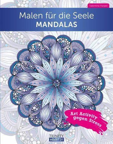 Broschiertes Buch »Malen für die Seele Mandala«