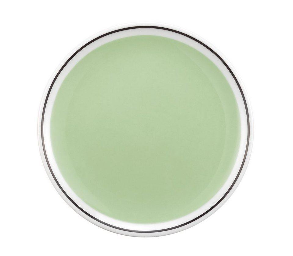 Seltmann Weiden Platte rund »No Limits Green Phantasy« in Weiß, Grün